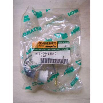 Komatsu Guinea D155-275-355.. Water Level Light - Part# 21T-06-13540 Unused in Package