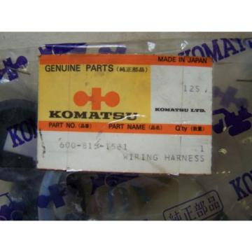 Komatsu Suriname D155 Auto Prime System Wiring Assy- Part# 600-815-1581 Unused in Package