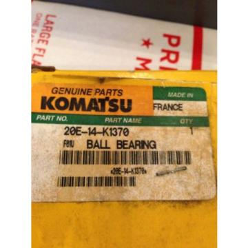 New Barbados  OEM Genuine Komatsu PC Excavator Ball Bearing 20E-14-K1370 Fast Shipping!