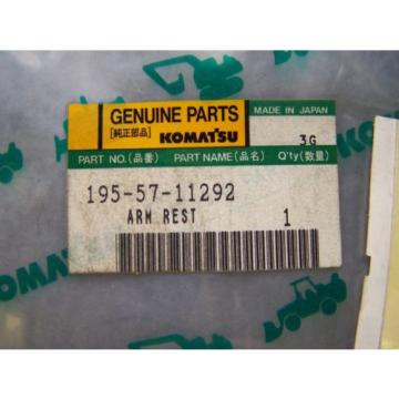 Komatsu Swaziland  D80-D85 Arm Rest Part # 195-57-11292 New In The Package