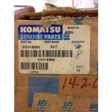 New Barbados  OEM Komatsu Genuine Parts Bolts Lot Of 8 01011-62005 Warranty! Fast Ship!