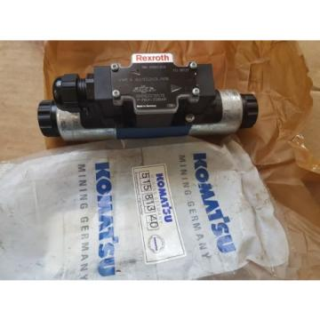 New Belarus  Komatsu Germany Rexroth Hydraulic Valve 515 813 40 / 4WE6J6X/EG24DL/N18