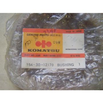 Komatsu Costa Rica  D88-D85-D95 Recoil Spring Bushing - Part# 154-30-12170 - Unused in Box