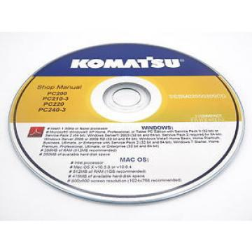 Komatsu Gibraltar  WA320-3 Avance Custom Wheel Loader Shop Service Repair Manual