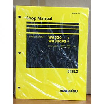 Komatsu Egypt  WA320-6, WA320PZ-6 Wheel Loader Shop Service Repair Manual