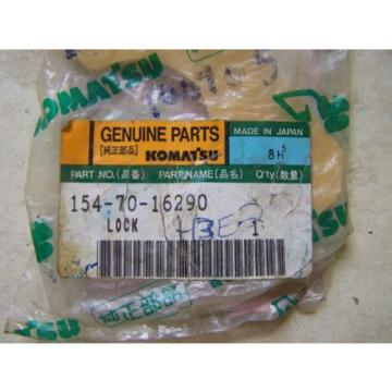 Komatsu France  D80-D85-D155-PC200 Blade Lock - Part# 154-70-16290-Unused in Package