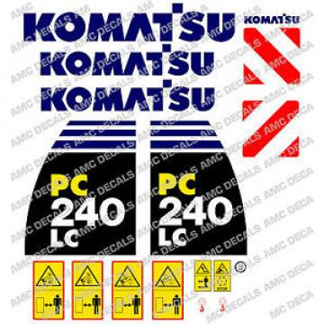 KOMATSU Swaziland  PC240LC -8 DIGGER DECAL STICKER SET