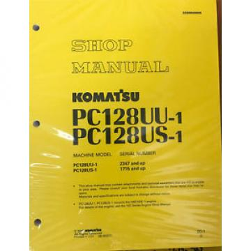 Komatsu Gibraltar  Service PC128US-1, PC128UU-1 Shop Manual