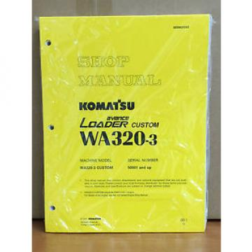Komatsu Liberia  WA320-3 Avance Custom Wheel Loader Shop Service Repair Manual