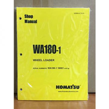Komatsu Cuba  WA180-1 Wheel Loader Shop Service Repair Manual