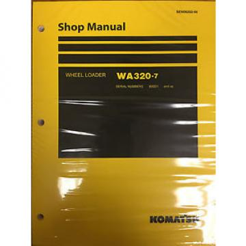 Komatsu Costa Rica  WA320-7 Wheel Loader Shop Service Repair Manual
