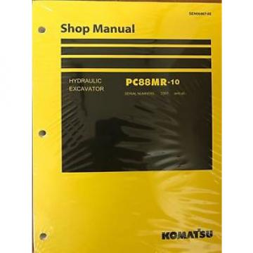 Komatsu Gambia  PC88MR-10 Service Repair Printed Manual