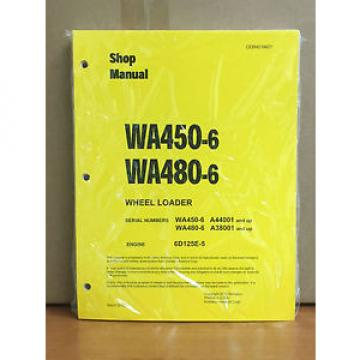 Komatsu Belarus  WA450-6, WA480-6 Wheel Loader Shop Service Repair Manual