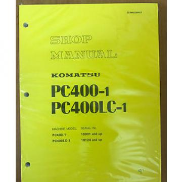 Komatsu Fiji  PC400-1 PC400LC-1 shop manual