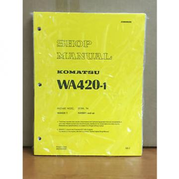 Komatsu Denmark  WA420-1 Wheel Loader Shop Service Repair Manual
