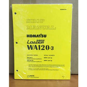 Komatsu Botswana  WA120-3, W120-3A Avance Wheel Loader Shop Service Repair Manual