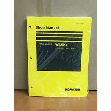 Komatsu Denmark WA50-6 Wheel Loader Shop Service Repair Manual