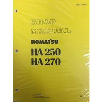 Komatsu Laos  HA250 HA270 Shop Service Manual Articulated Dump Truck