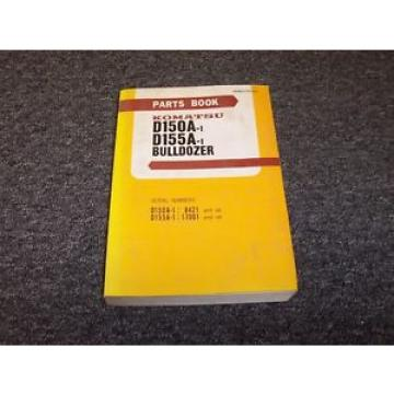 Komatsu Suriname  D150A-1 D155A-1 Bulldozer Dozer Crawler Original Parts Catalog Manual