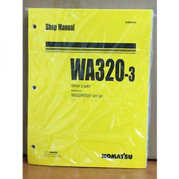 Komatsu Russia  WA320-3 Wheel Loader Shop Service Repair Manual (WA320H20051 & up)