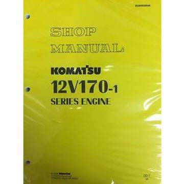 Komatsu Moldova, Republic of  12V170-1  Series Engine Factory Shop Service Repair Manual