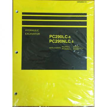 Komatsu Denmark  PC290LC-8, PC290NLC-8 Hydraulic Excavator Shop Manual Repair