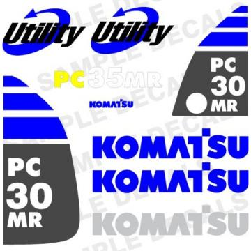 Komatsu Azerbaijan  Decals for Backhoes, Wheel Loaders, Dozers, Mini-excavators, and Dumps