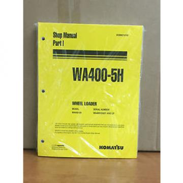 Komatsu Oman  WA400-5H Wheel Loader Shop Service Repair Manual