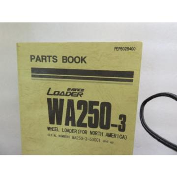 Komatsu Guinea  - WA250-3 - Wheel Loader Parts Book Manual PEPB028400