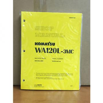 Komatsu Iran  WA120L-3MC Wheel Loader Shop Service Repair Manual