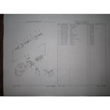 Komatsu Gambia  PC12UU-1 mini excavator parts Manual