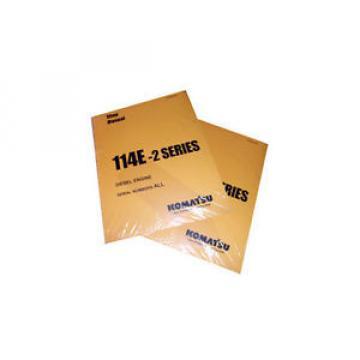 Komatsu Oman PC750-6/LC/SE-6, PC800-6 Service Shop Printed Manual