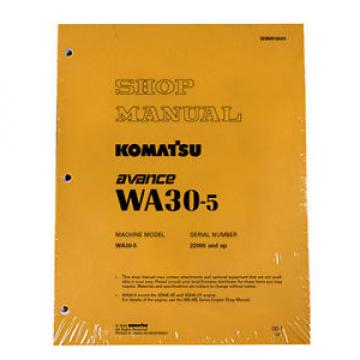 Komatsu Uruguay  WA30-5 Wheel Loader Service Repair Manual