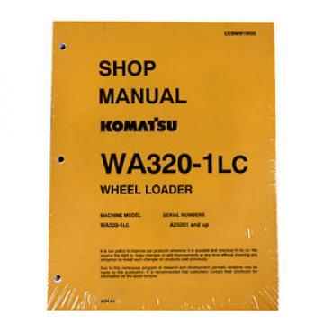 Komatsu Barbuda WA-320-1LC Wheel Loader Service Shop Manual