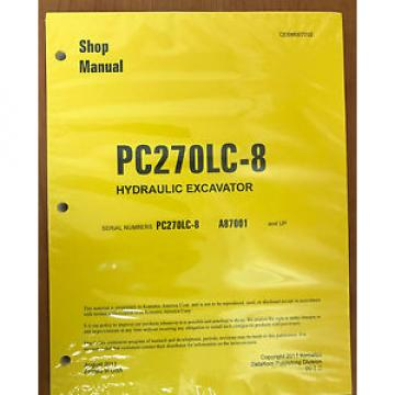 Komatsu Moldova, Republic of  PC270LC-8 Service Repair Printed Manual Shop