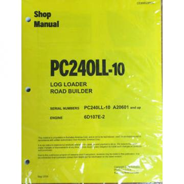 Komatsu Moldova, Republic of  PC240Ll-10 Hydraulic Excavator Repair and Service Manual
