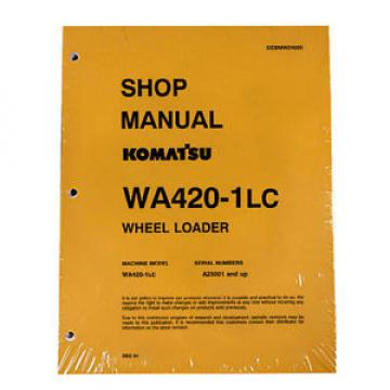 Komatsu Niger  WA420-1LC Wheel Loader Service Repair Manual