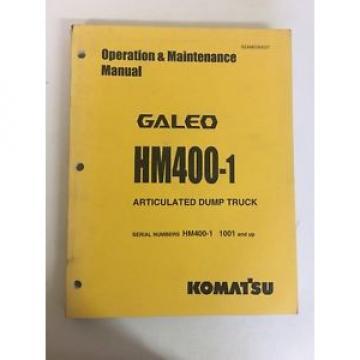 Komatsu Argentina HM400-1 Shop Service Manual Articulated Dump Truck