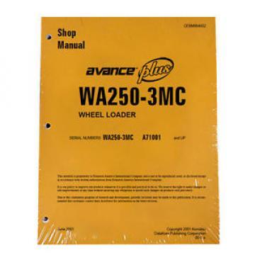 Komatsu Netheriands WA250-3MC Wheel Loader Service Shop Manual