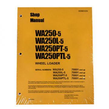 Komatsu Swaziland WA250-5/L-5, WA250PT-5/PTL-5 Service Manual