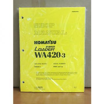 Komatsu Burma WA420-3 Avance Wheel Loader Shop Service Repair Manual