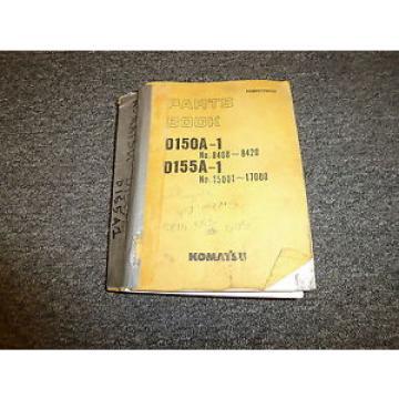 Komatsu Gambia D150A1 D155A1 Bulldozer Parts Catalog Manual Manual