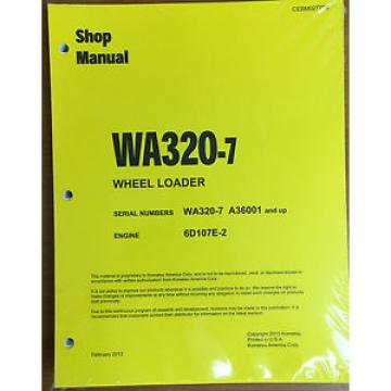 Komatsu Gambia  WA320-7 Wheel Loader Shop Service Repair Manual