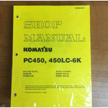 Komatsu Ethiopia  PC450-6K, PC450LC-6K Service Repair Printed Manual
