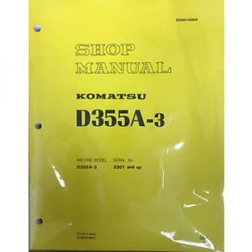 Komatsu Egypt D355A-3 Shop, Repair, Service, Manual - Bulldozer - Crawler - Bull Dozer