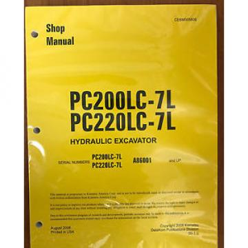 Komatsu Uruguay  Service PC160LC-7E0 PC180LC-7E0 PC180NLC-7E0 Shop Repair Manual NEW