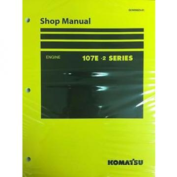 Komatsu Egypt  107E-2 Series Engine Factory Shop Service Repair Manual