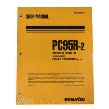 Komatsu Gambia  Service PC95R-2 Excavator Shop Manual NEW #1