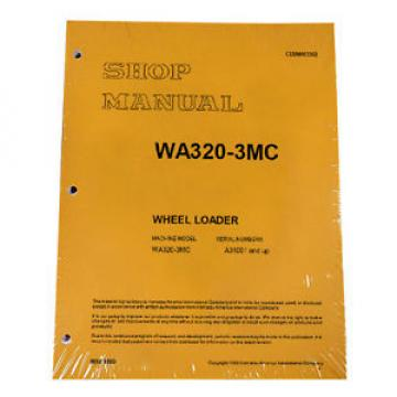 Komatsu Guinea  WA180-3MC Wheel Loader Service Repair Manual