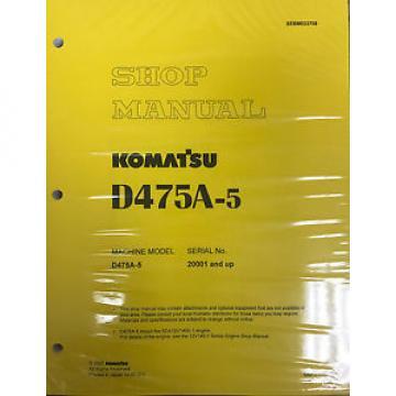 Komatsu Botswana D475A-5 Service Repair Workshop Printed Manual